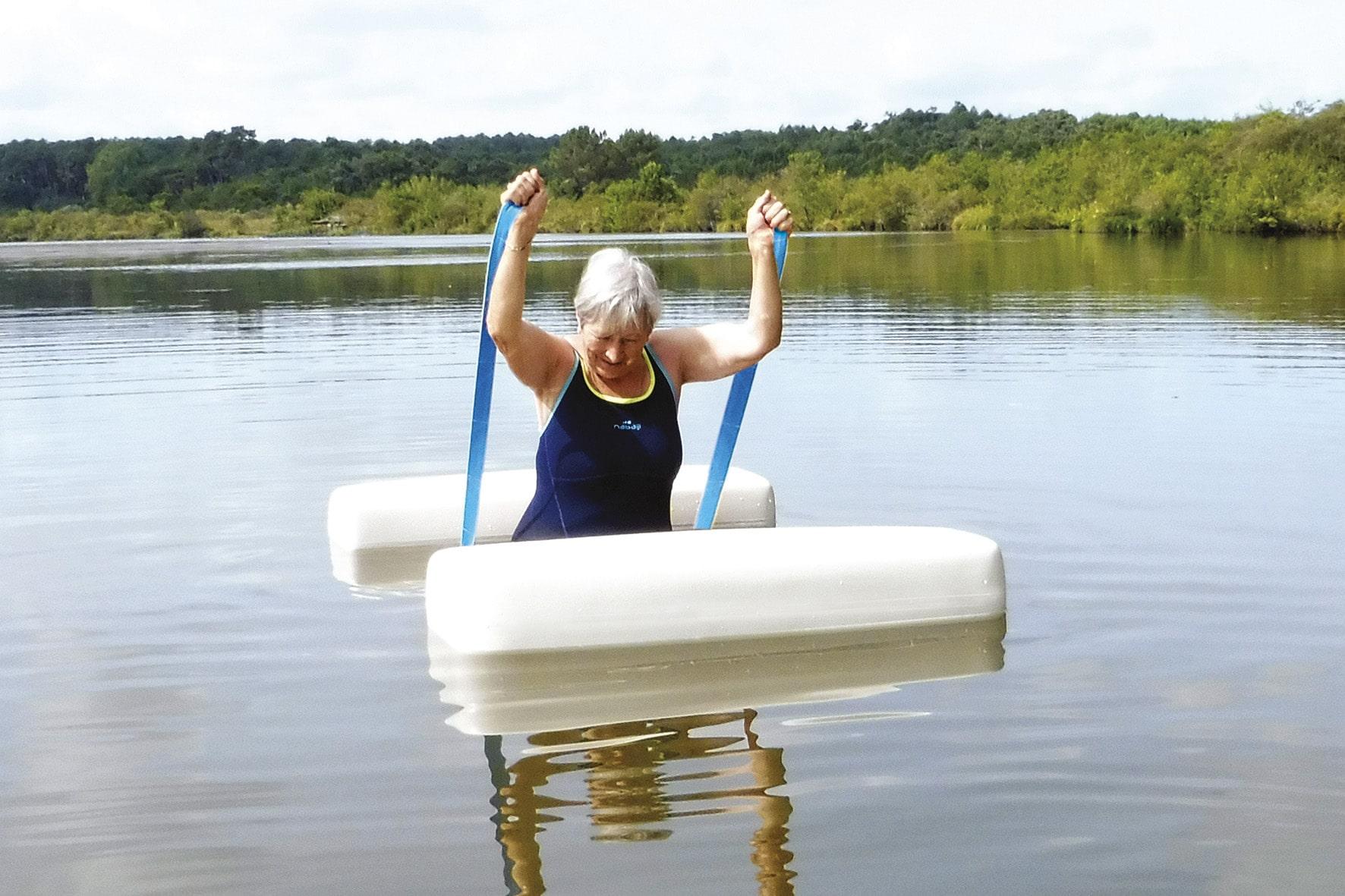 L'appareil de sport insubmersible
